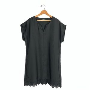 Madewell Caitlyn Embroidered Shift Dress size L